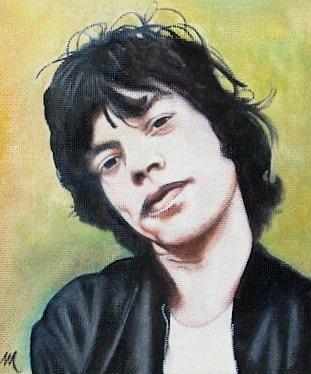 Mick Jagger por mario